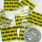 1000 Batman Baggies 5858 zip lock bags 5/8 x 5/8""