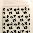 200 Panda Design Apple Baggies 1515 Mini Ziplock Bags 1.5 x 1.5 in.