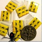 200 Spiders Baggies 1212 Small Ziplock Bags 0.5 x 0.5 in
