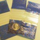 "100 Royal Crowns Apple Baggies 1.5 x 1.5"" Mini Zip Bags 1515"