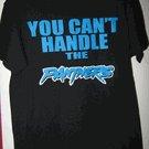 NFL Carolina Panthers-You Cant Handle the Panters black t-shirt