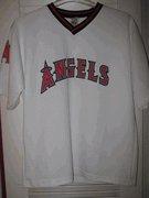 Vintage Anaheim Angels White Baseball Shirt by Big Time