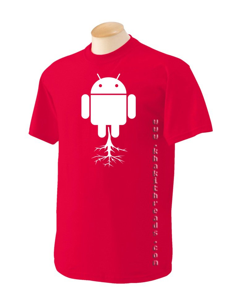 rooting android Geek T-Shirt