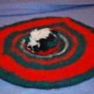 McGregor 100% Wool TAM Hat Red Green Black White EUC