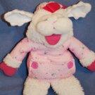 "1990 Shari Lewis Pink Baby LAMB CHOP Puppet ~ 13"" EUC"