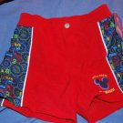 NEW Mickey Mouse Clubhouse Swim Trunks NWT Boys 5