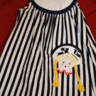 Boutique SUNDRESS Blue & White Striped Little Girl 4