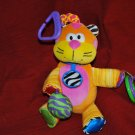 Lamaze Kitty Cat Rattle Crinkle Crib Car Teether Toy