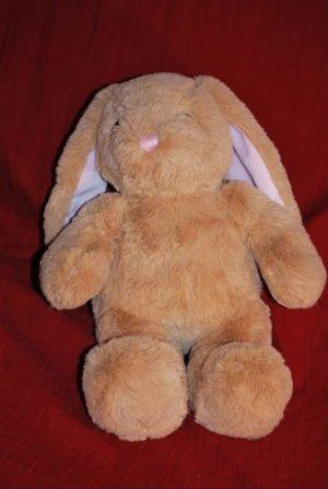 """Build a Bear SOFT EASTER Bunny Pink Floppy Ears 15"""" EUC"""