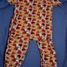 Chidlrens Place Boys FOOTBALL Pajamas PJ's Size 6X/7