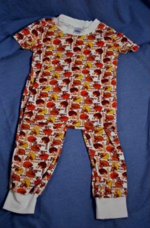 Chidlrens Place Boys FOOTBALL Pajamas PJ's Size 6X/7