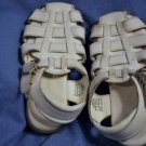 STRIDE RITE Girls White Leather SANDALS Size 8.5 Narrow