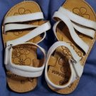 INNOCENCE White SANDALS Excellent Condition Size 11
