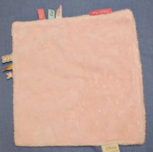 DISNEY'S My First Friends PINK Square Lovey Blanket