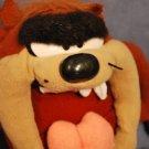 "Looney Tunes ""TAZ"" Tazmanian Devil Plush Toy 1997 EUC"