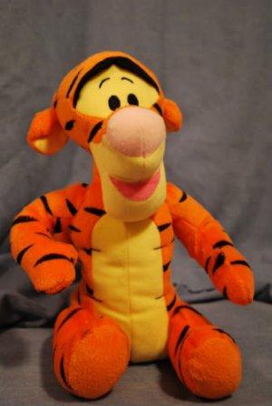 "DISNEY's Plush TIGGER Toy approximately 10"" EUC"