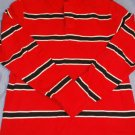 Arizona Rugby Shirt Red White Black LNC Size LARGE
