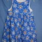 Catherine Rebecca Holiday Sparkle Dress Jumper Girls Size 4 EUC LNC