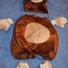 Little MONKEY Costume 6 Piece Size 12/24 months EUC