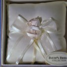 NEW David's Bridal Ivory Ring Bearer Pillow Wedding NWT