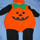 MINIWEAR Little PUMPKIN Fleece Costume 2 pc Size 12M