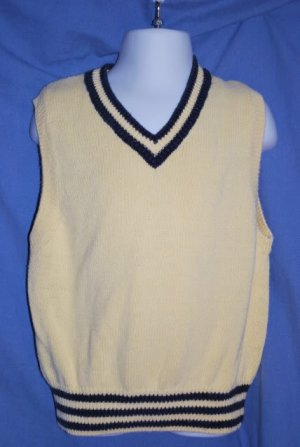 Children's Place Yellow Dressy Sweater Vest 4T