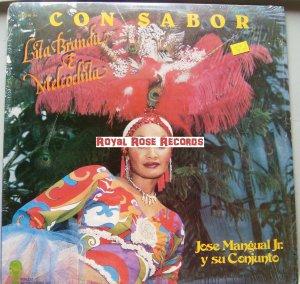 Lita Branda & Melcochita Con Jose Mangual Jr. y Su Conjunto - Con Sabor (Perudis)