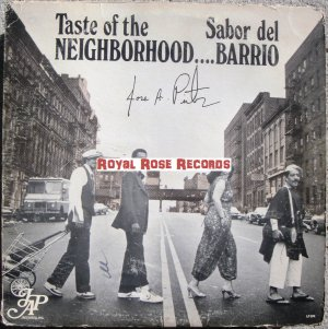 Jose A. Pintor - Sabor Del Barrio / Taste Of The Neighborhood (JAP)