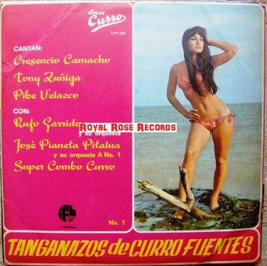 VA-Tanganazos De Curro Fuentes (Cresencio Camacho, Supercombo Curro, Rufo Garrido) (Discos Curro)