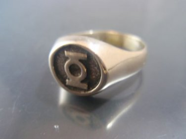 Green Lantern Solid Sterling Silver 925 RING all size for you