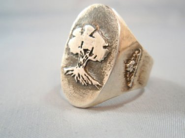Solid Sterling Silver 925 Golani Israeli Army Idf Zahal Ring