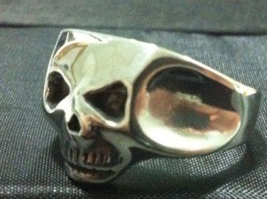 Depp SKULL RING Exact Jack Sparrow solid sterling silver 925