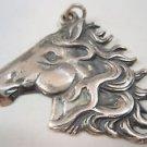 Ezi Zino world championship stately Horse Solid Sterling Silver Pendant Necklace