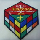 WORLD SCOUT HUNGANAN JAMBOREE CONTINGENT CUBE PATCH