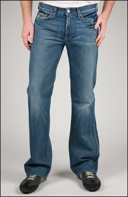 7 FOR ALL MANKIND BOOTCUT JEAN IN NAM