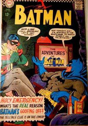 BATMAN Comics #183...August 1966...Fine/Very Fine Condition!
