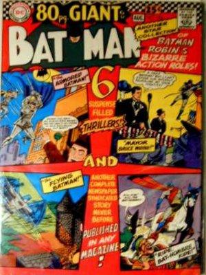 BATMAN Comics #193...July/August 1967...80-Page GIANT!  Fine Condition!