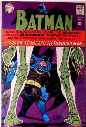 BATMAN Comics #195...September 1967...Fine Condition!