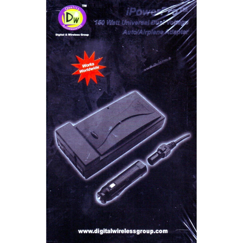 iPowerPro 150 Watt UltraSlim Universal/Auto/Airplane Adapter/Inverter--Sealed!