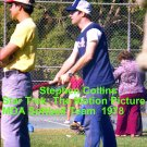 'STAR TREK: THE MOTION PICTURE' CANDID MDA SOFTBALL GAME  4x6--1978!! STEPHEN COLLINS! #1