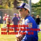 'STAR TREK: THE MOTION PICTURE' CANDID MDA SOFTBALL GAME  4x6--1978!! STEPHEN COLLINS! #5
