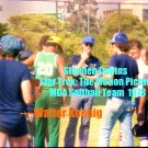 'STAR TREK: THE MOTION PICTURE' CANDID MDA SOFTBALL GAME 4x6--1978!!  COLLINS & KOENIG! #12
