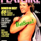 PLAYGIRL Magazine--April 1989--Frank Dicopoulos Cover...Stars' Dirty Jokes!