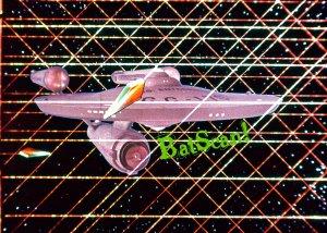STAR TREK Original Film Slide AND Color 5x7 Pic#96 1968--Enterprise Webbed In!