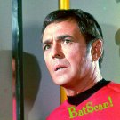 STAR TREK Original Film Slide AND Color 5x7 Pic#97 1968--Scotty Looking Worried!