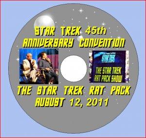 THE STAR TREK RAT PACK SHOW DVD!!  45th Anniversary Convention in Las Vegas 8-12-11