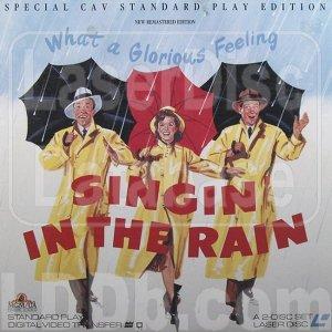 SINGIN' IN THE RAIN Laser Disc (1952)...Like New...Kelly, O'Connor, Reynolds!!