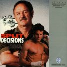SPLIT DECISIONS Laser Disc (1988)...SEALED!  Gene Hackman, Jennifer Beals, Craig Sheffer