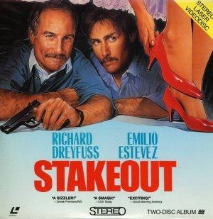 STAKEOUT Laser Disc (1987)...SEALED!!...2-Disc...Richard Dreyfuss, Emilio Estevez