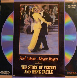THE STORY OF VERNON & IRENE CASTLE Laser Disc (1939)...SEALED!!  Fred and Ginger!!  Rare Laser!